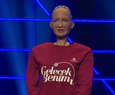 Robot Sophia tekrar Türkiye'de