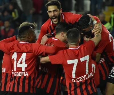 Gazişehir Gaziantepspor 2-0 Tetiş Yapı Elazığspor / Maç Özeti