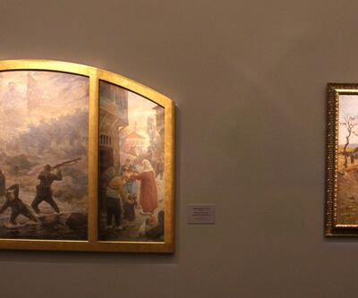 Çanakkale Zaferi'ni yaşatan iki önemli eser sergileniyor