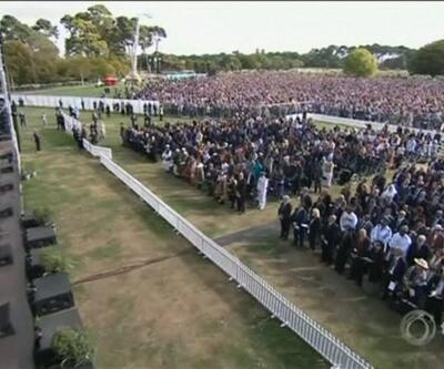Yeni Zelanda'da anma töreni