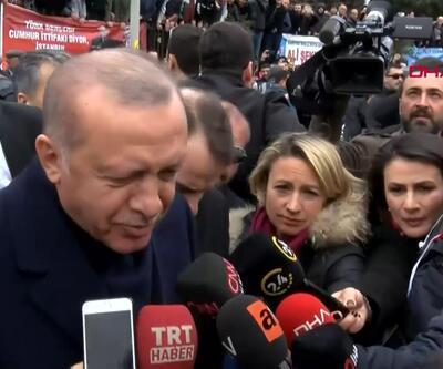 Cumhurbaşkanı Erdoğan: Meşruiyet dışı adımlar yoluna girecek