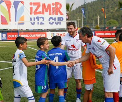 6. Uluslararası U12 İzmir Cup başladı