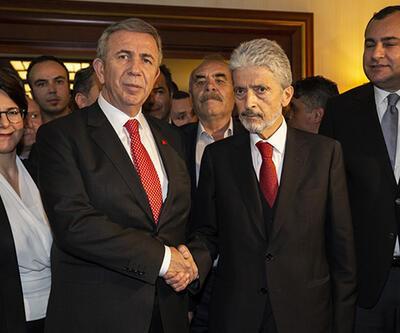 Son dakika: Mansur Yavaş belediye başkanlığı görevini devraldı
