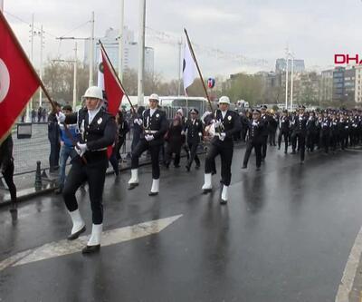 174'üncü yıl dönümü Taksim'de kutlandı
