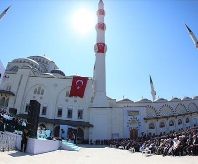 Büyük Çamlıca Camii açıldı