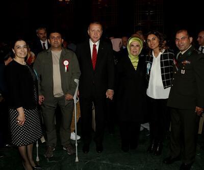 Erdoğanşehit aileleriyle iftarda bir araya geldi