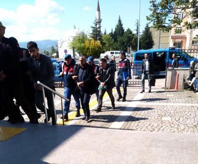 Kütahya'da kaçak kazıya 2 tutuklama