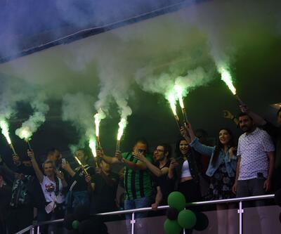 Denizlispor'da Süper Lig coşkusu