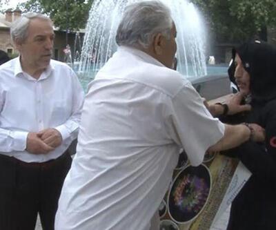 'Kadına şiddeti' protesto ediyordu, saldırıya uğradı