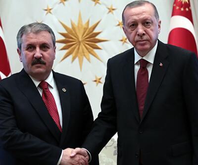 BBP Genel Başkanı Mustafa Destici Beştepe'de