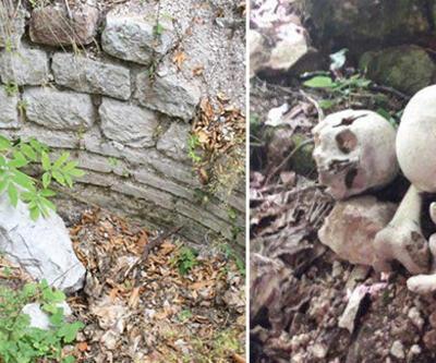 Küre Dağları Milli Parkı'nda defineciler kaçak kazı yaptı