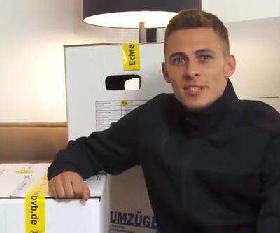 Dortmund Thorgan Hazard'ı açıkladı
