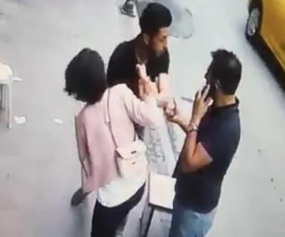 Beşiktaş'ta eşiyle kavga eden şahıs ekmek bıçağıyla tehditler savurdu