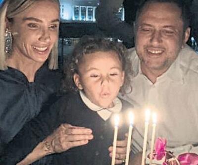 Gülşen 43 yaşında! Mumları oğlu üfledi