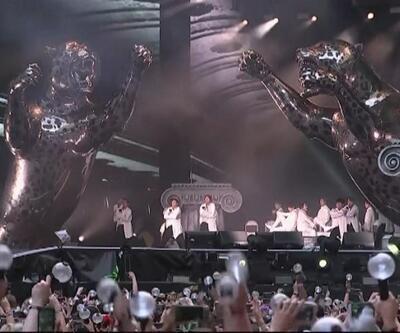 Güney Koreli grup tarihe geçti