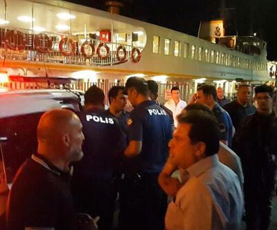 İstanbul'da vapurda havaya ateş açan şüpheli yakalandı