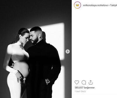 Anastasia Reshetova hamile