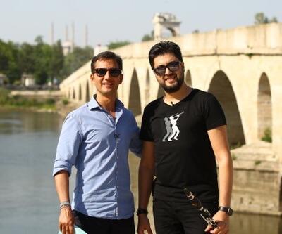Memlekette Bayram, Serkan Çağrı ile Edirne'yi gezdi