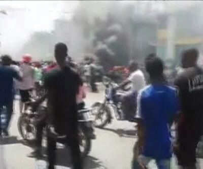 Haiti'de gösteriler sürüyor