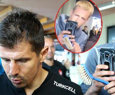 Emre Belözoğlu'na fırça tutan kişinin kim olduğu ortaya çıktı!
