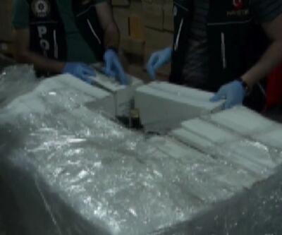 4,5 milyon TL'lik uyuşturucu ele geçirildi