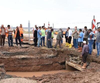 Sel nedeniyle kapanan Kırıkkale- Samsun karayolu trafiğe açıldı