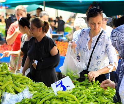 Sebze meyve fiyatları sevindirdi