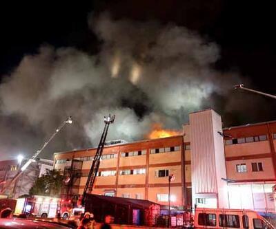 İstanbul'da fabrika yangını! 4 kişi hayatını kaybetti