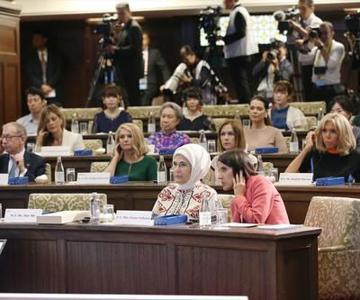 """Emine Erdoğan'dan G20 Liderler Zirvesi'nde """"Sıfır Atık"""" mesajı"""