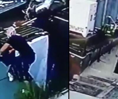 Kadın kıyafeti giyinip hırsızlık yapmaya kalkıştı