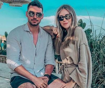 Selma Çilek ile eşi Sinan Çiftçi'den deniz ortasında hamburger ziyafeti
