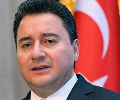 Ali Babacan AK Parti'den istifa ettiğini açıkladı