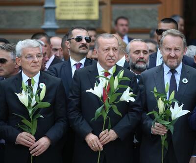 Srebrenitsa soykırımının 24. yılında hayatını kaybedenler anıldı