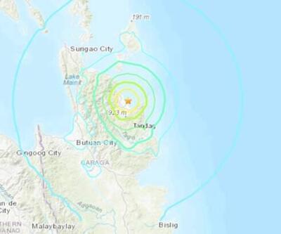 Filipinler'in güneyinde 5,8 büyüklüğünde deprem