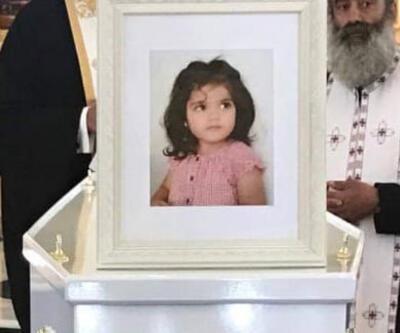 Rum seri katili tarafından öldürülen küçük Sierra son yolculuğuna uğurlandı