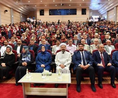 Ali Erbaş: İslam'ın doğru bilinmesi hayati öneme sahiptir