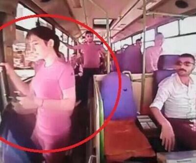 Halk otobüsünden düşen genç kız hayatını kaybetti
