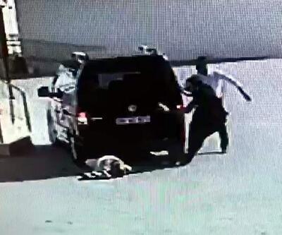 Aracıyla kavga ettiği kişinin üzerinden geçti