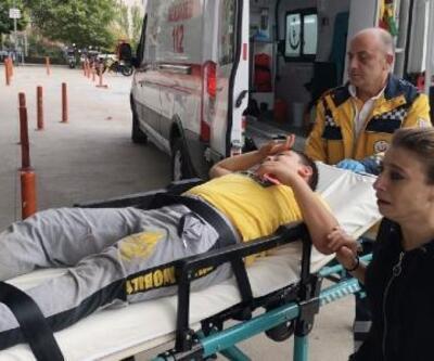 Efe'ye otomobil çarptı, annesi gözyaşlarına boğuldu