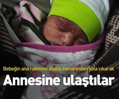 Terk edilen bebeğin annesini bulmak için adım adım iz sürdüler