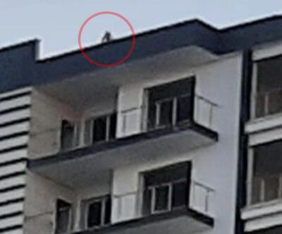Elazığ'da 12 katlı binada intihar girişimi
