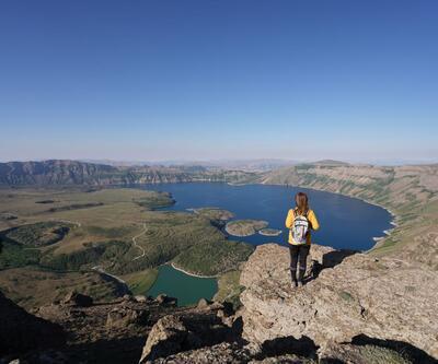 Kampçıların yeni rotası: Nemrut Krater Gölü