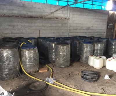 Adana'da operasyon: 5 bin 400 litre sahte içki ele geçirildi