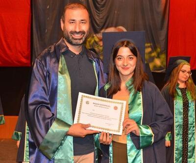 Hukuk Fakültesi'nde mezuniyet heyecanı