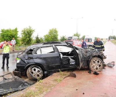 Nevşehir'de otomobil takla attı: 3 yaralı