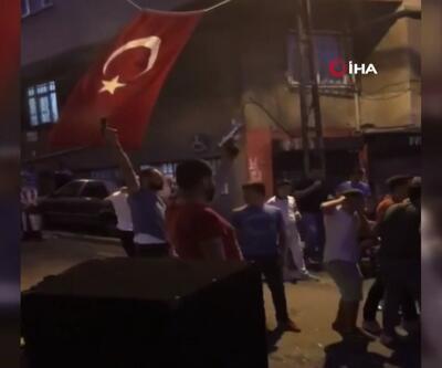 Tünel kapatıp havaya ateş açtılar