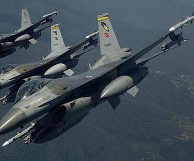 Kuzey Irak'a hava harekâtı... Terör hedefleri imha edildi
