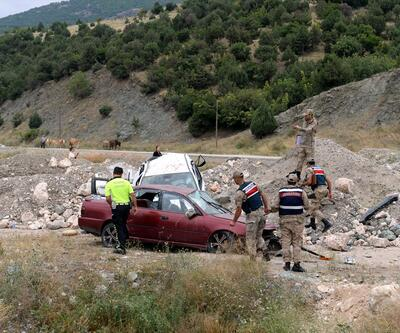 Cenaze yolunda trafik kazası: 1 ölü, 6 yaralı
