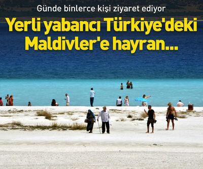 Yerli yabancı Türkiye'deki Maldivler'e hayran