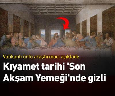 """""""Kıyamet tarihi 'Son Akşam Yemeği'nde saklı"""""""